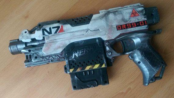 Nerf flywheel gun modding