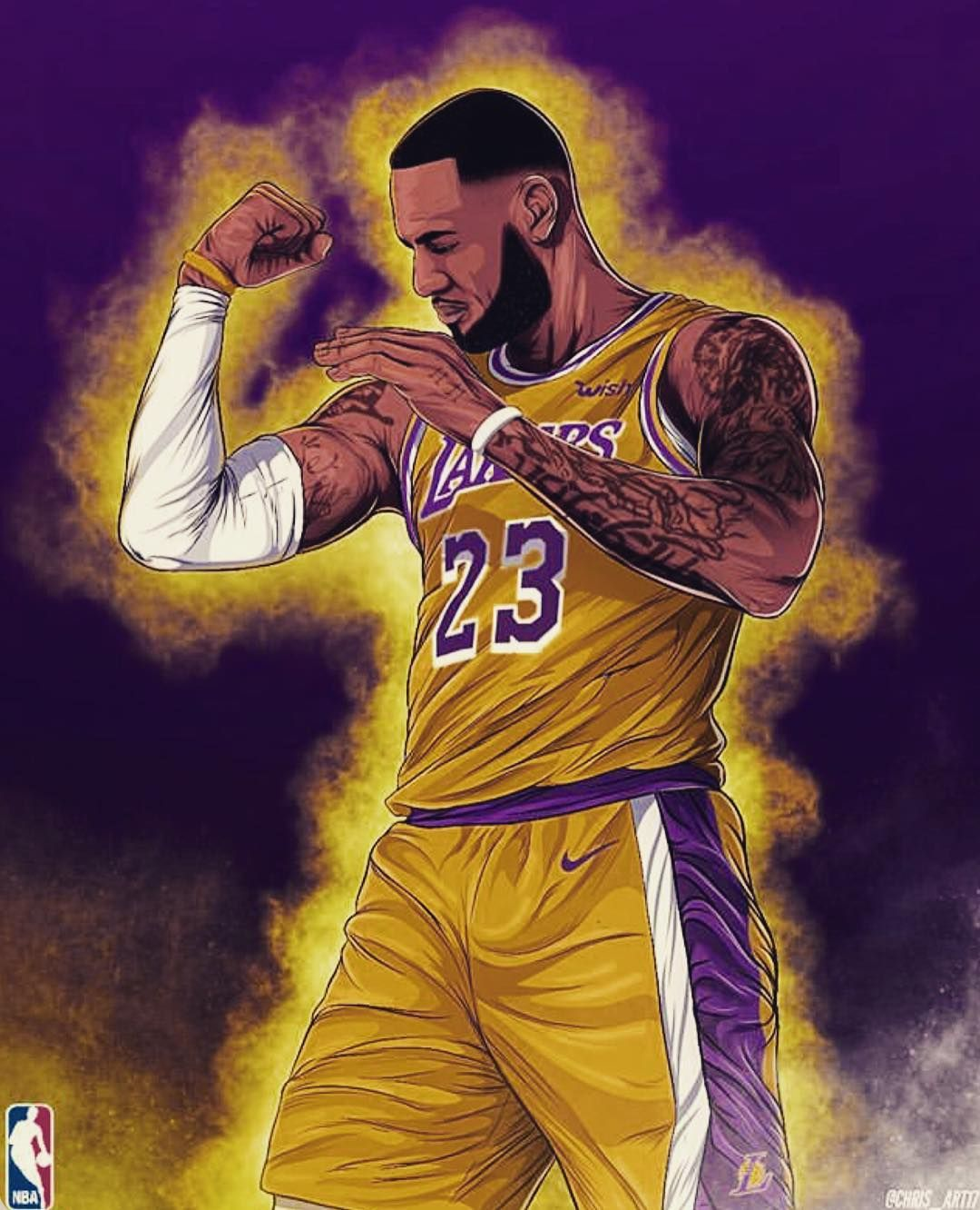 With A Healthy Lebron James All Season Long The Lakers Would Still Be In Playoff Contention T Lebron James Wallpapers Lebron James Lakers Lebron James Art