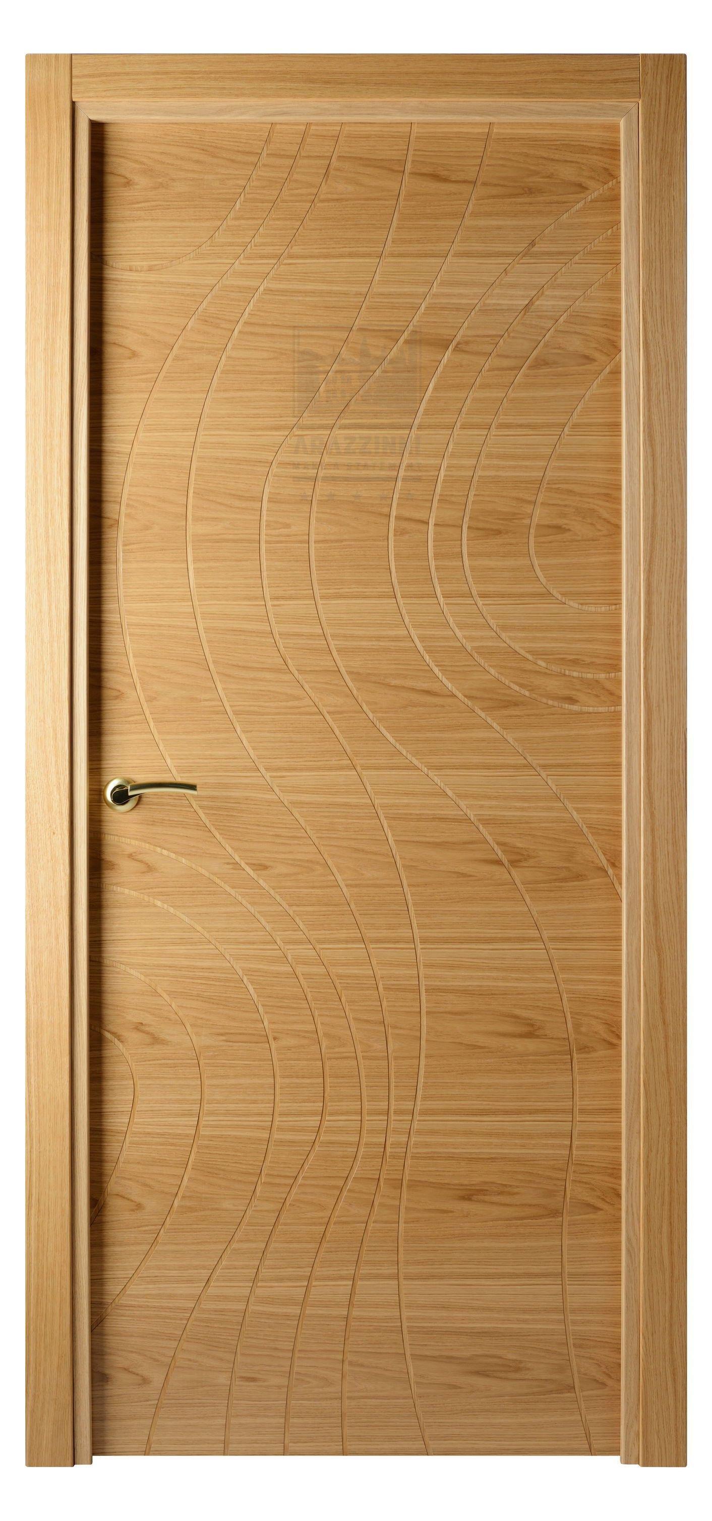 Natural Veneered Wooden Flush Door Design Mdf Living Room: Arazzinni Piega Interior Door Oak (With Images)