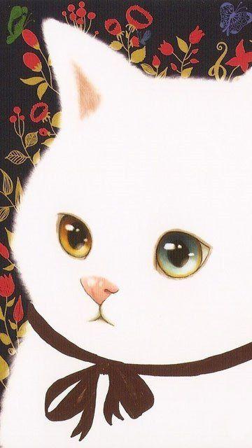 【背景】猫