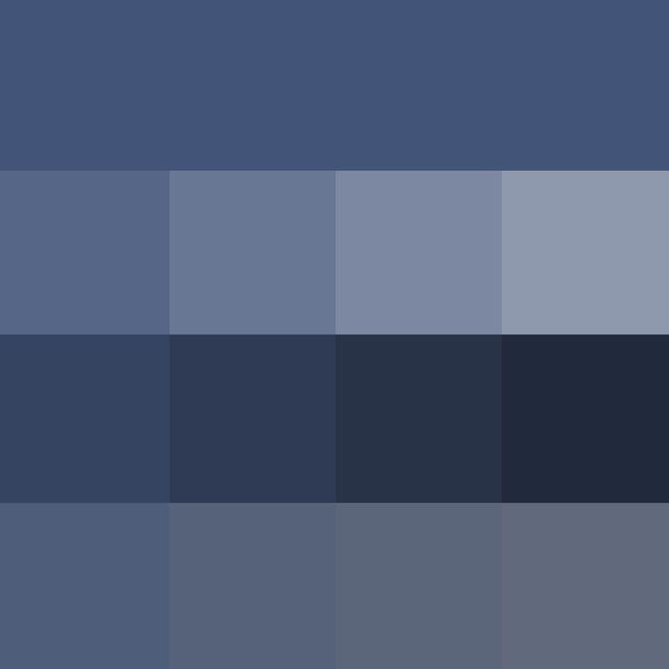 Pantone Color Navy Soft Summer Palette Colors Iris