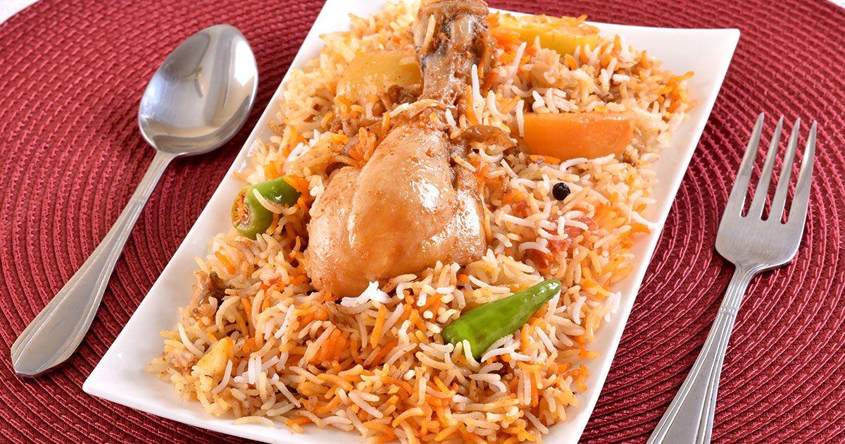 طريقة الارز البرياني Recipe Middle East Food Chicken Recipes Food