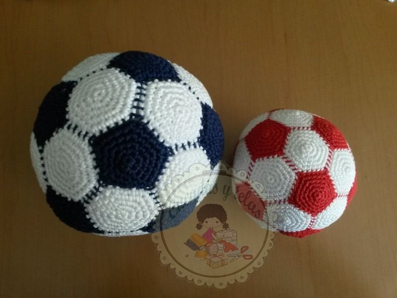 Balones de ganchillo - Crochet balls
