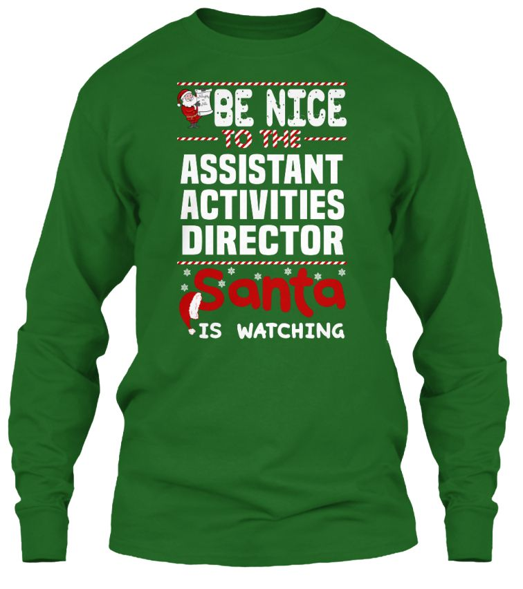 Assistant Activities Director  Activities Dads And Be Nice