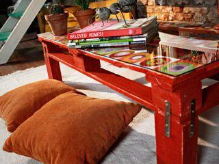 manualidades y artesanas mesa con palet foxlifetv
