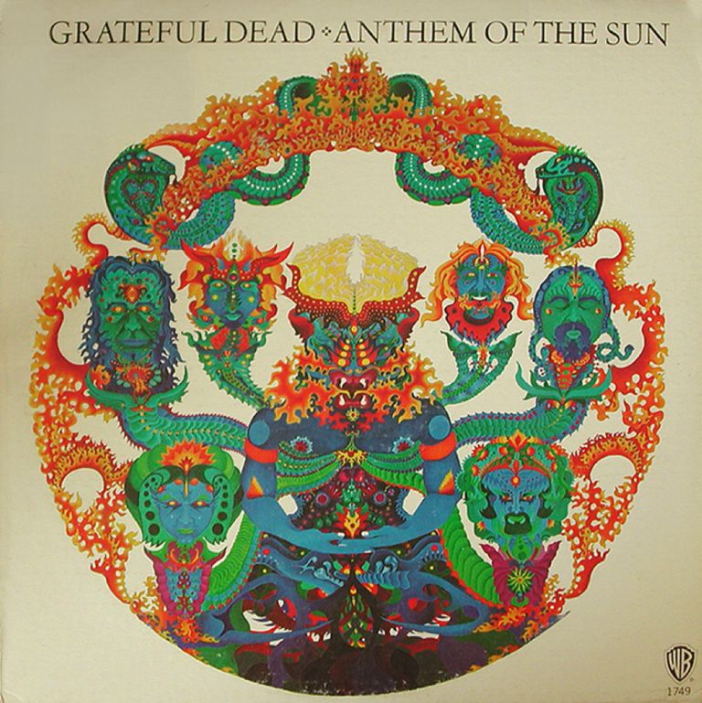 Grateful Dead Anthem Of The Sun With Images Album Cover Art
