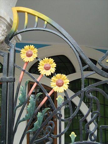 Art Nouveau Iron   Google Search