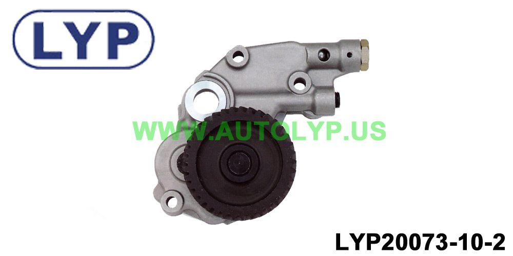 LYP-20073-10-2	OIL PUMP/BOMBA DE ACEITE		ME-201735/ME-204053	REPLACEMENT FOR/REEMPLAZO PARA	MITSUBISHI	PAJERO 4M40