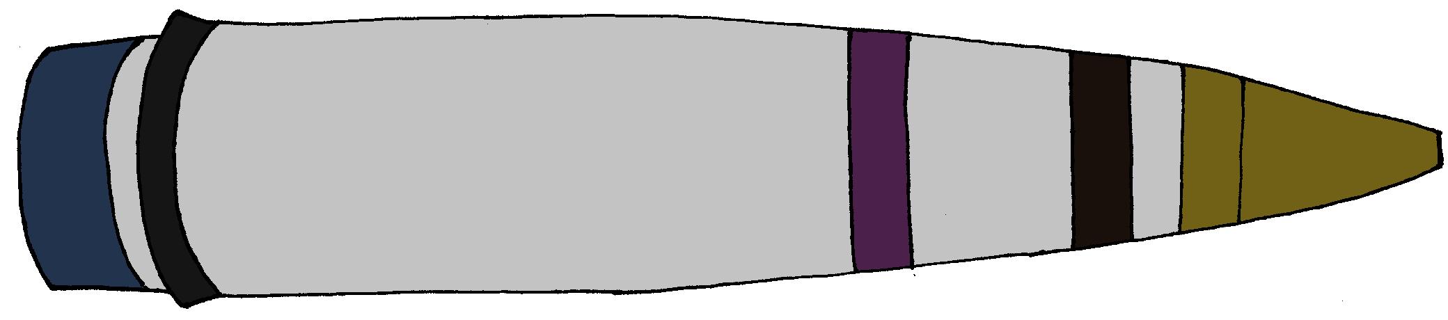 M0102A1 105mm Artillery Round