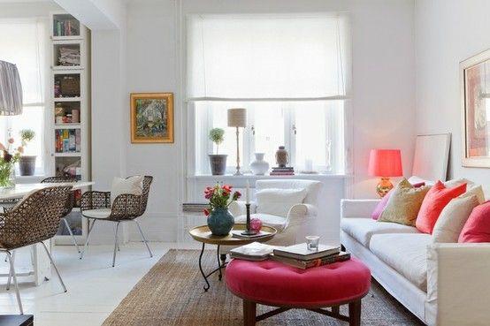 Interieurtrends kleur neon palettes pinterest living room
