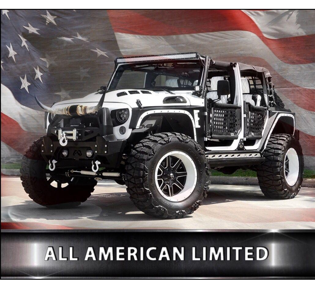 All American Limited By American Custom Jeep Custom Jeep Jeep