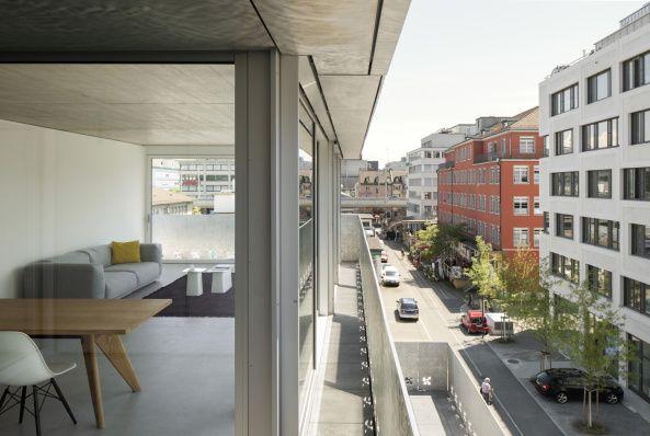 Escher-Wyss-Areal, Zürich, WIel Arets, Blumenhaus, Mohnblumen, Rohalumium…