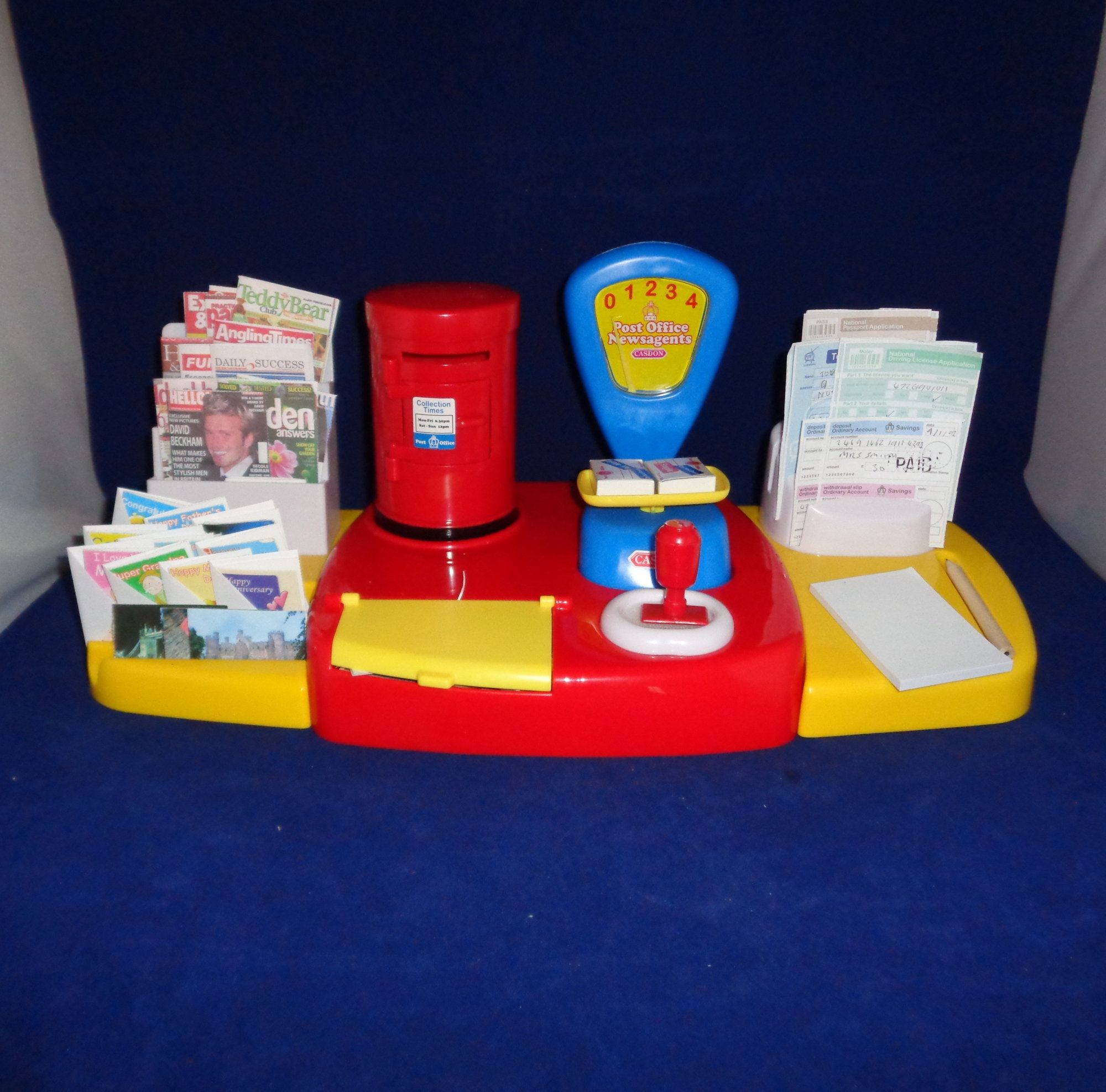 Childrens toy post office game casdon collectable little