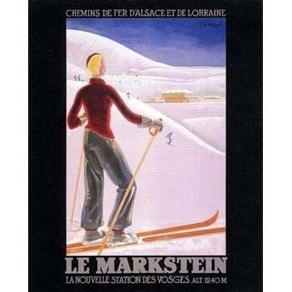 ''Le Markstein'' by Anon Vintage Advertising Art Print
