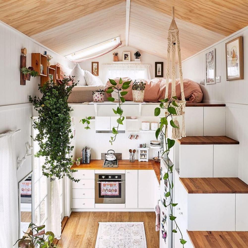 Photo of Tiny house : idées à piquer pour optimiser, organiser et ouvrir l'espace