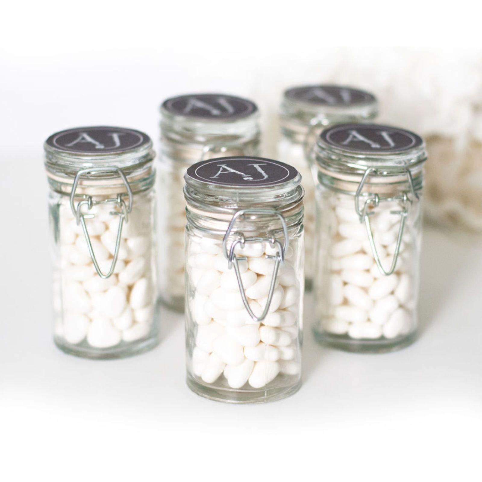Celebrate It™ Occasions™ 18 Snap-Top Favor Jars & Chalkboard Labels ...