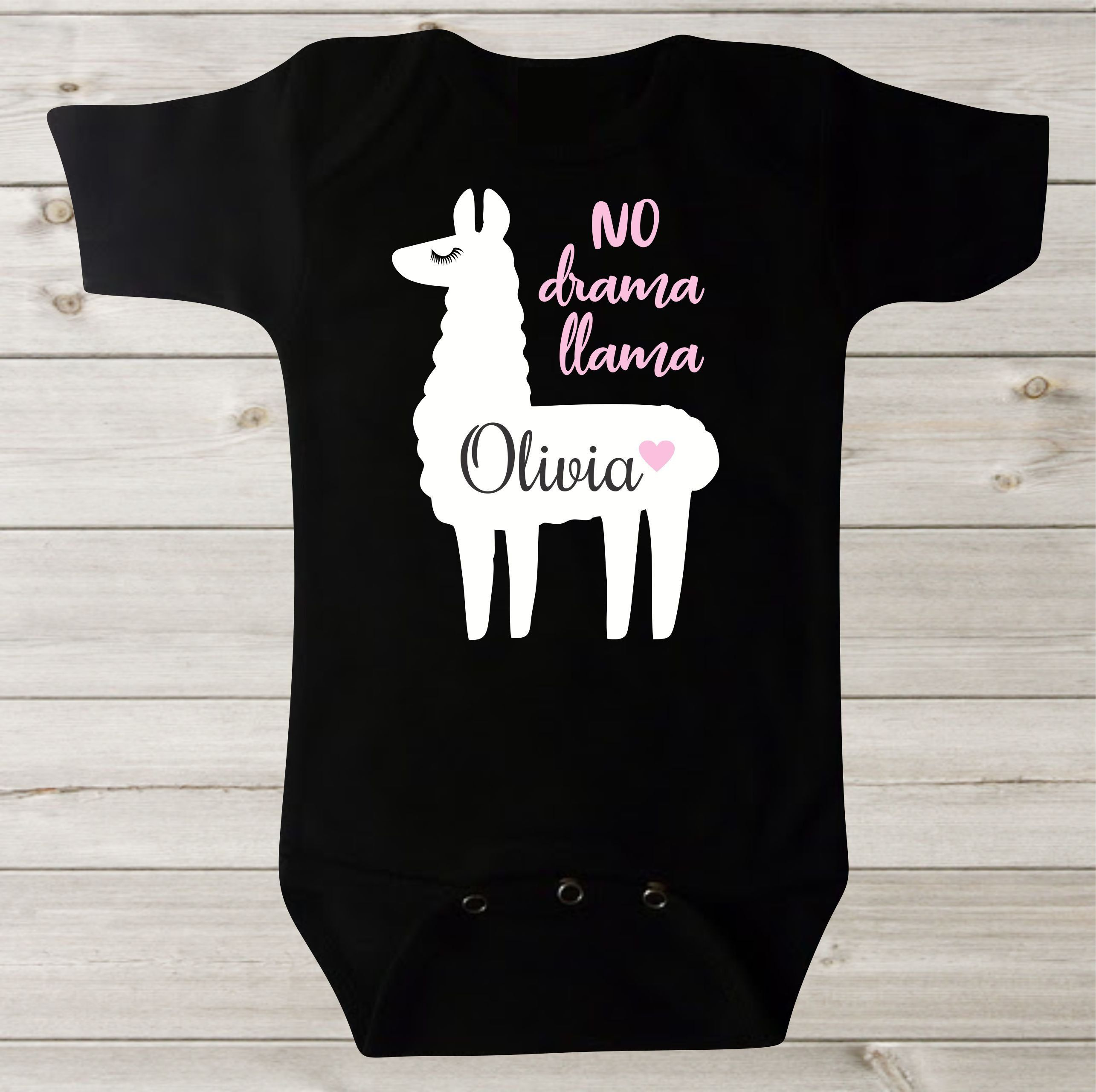 Llama Baby Outfit Come se Llama Funny Baby Bodysuit Gold Glitter Girl Or Boy Unisex Baby Gift