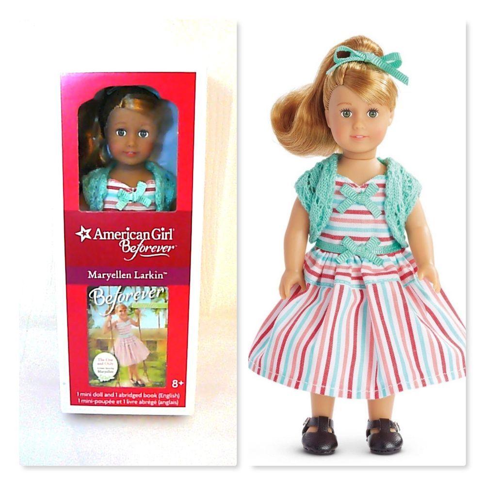 American Girl Mini Maryellen Doll and Mini Book NEW in Box