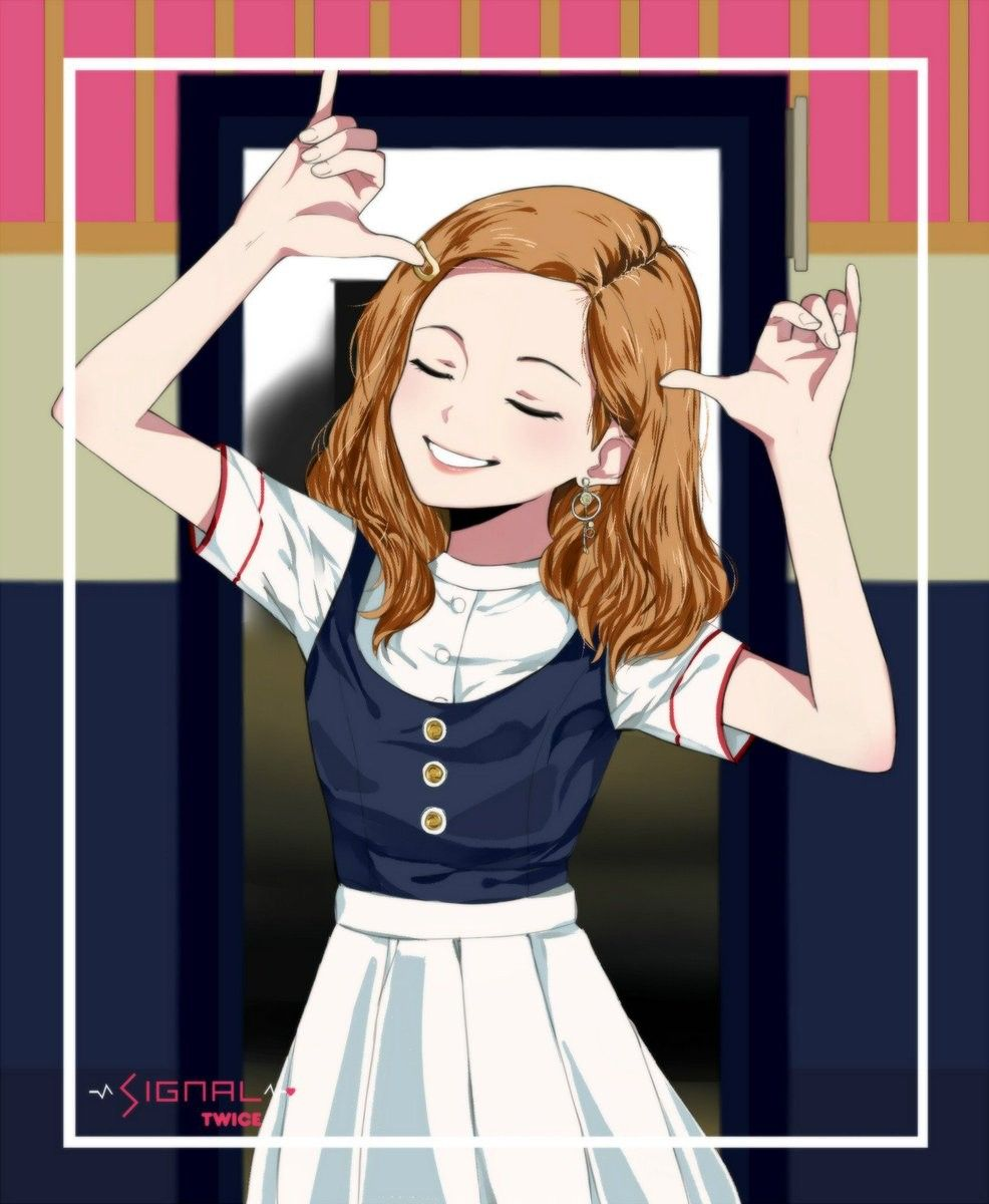 Dahyun (Twice member) Boyband & Girlband Anime series