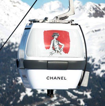 Chanel vuelve a abrir una boutique en la estación de esquí de Courchevel