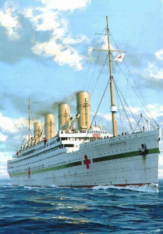 Britannic Engine Room: 21st November 1916 HMHS Brittanic The Sister Ship Of RMS