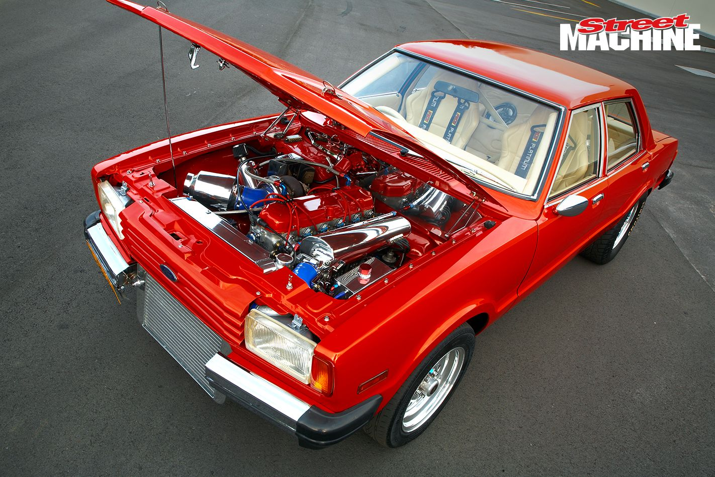 Turbo Six Powered Te Ford Cortina Runs Nines Ford Turbo Ford Motor