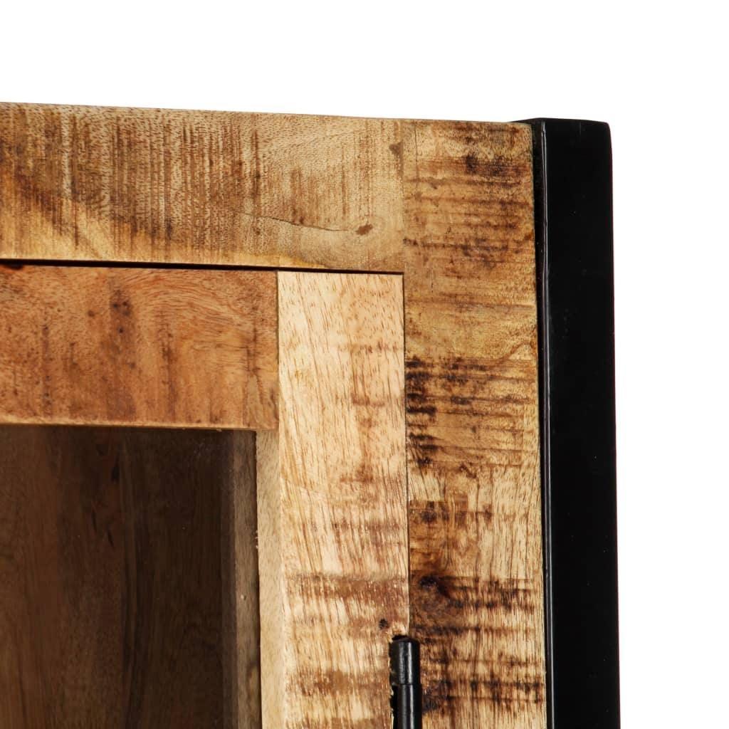 Vida Highboard 100x40x175 Cm Solid Mango Wood