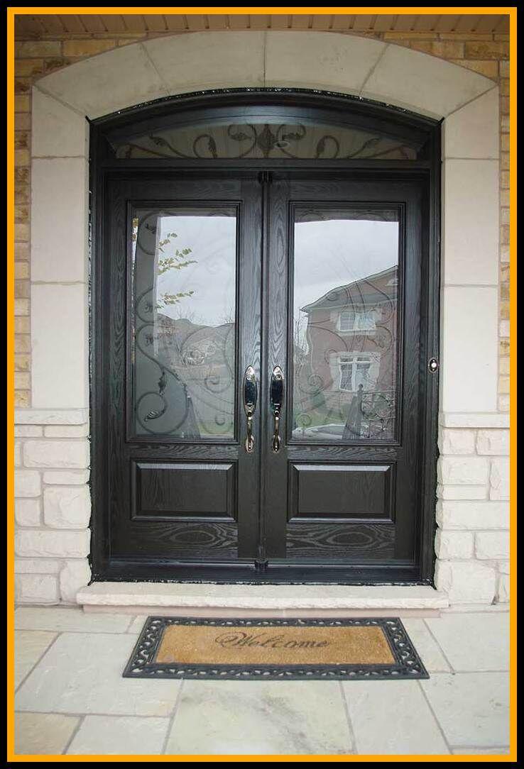 90 Reference Of Double Door Exterior Front Door In 2020 Double Doors Exterior Double Front Doors Double Door Entryway