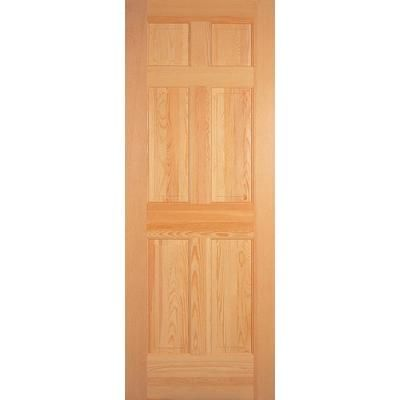 Charmant Masonite | 6 Panel Clear Pine Door 30 Inch X 80 Inch | Home Depot Canada