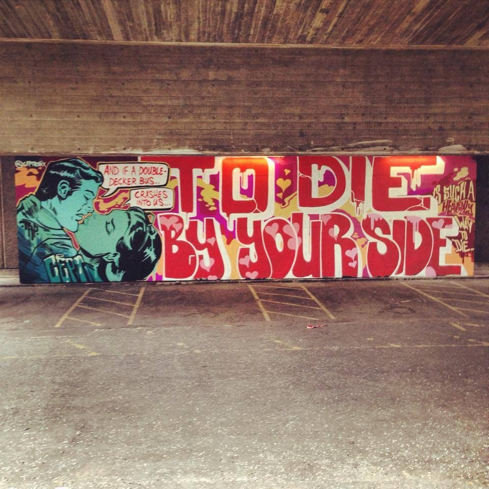 The Smiths street art