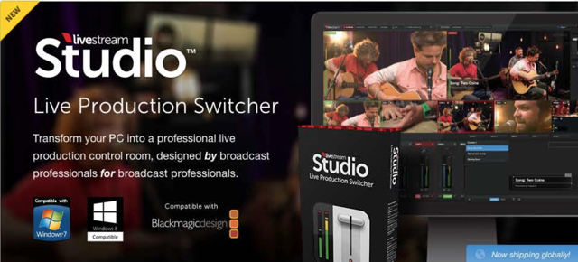 Learn more: http://store.livestream.com/products/livestream-studio-software/