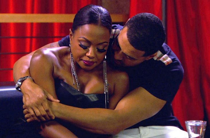 Apollo Nida and Phaedra Parks Share a Super Awkward Reunion in the Club (VIDEO)