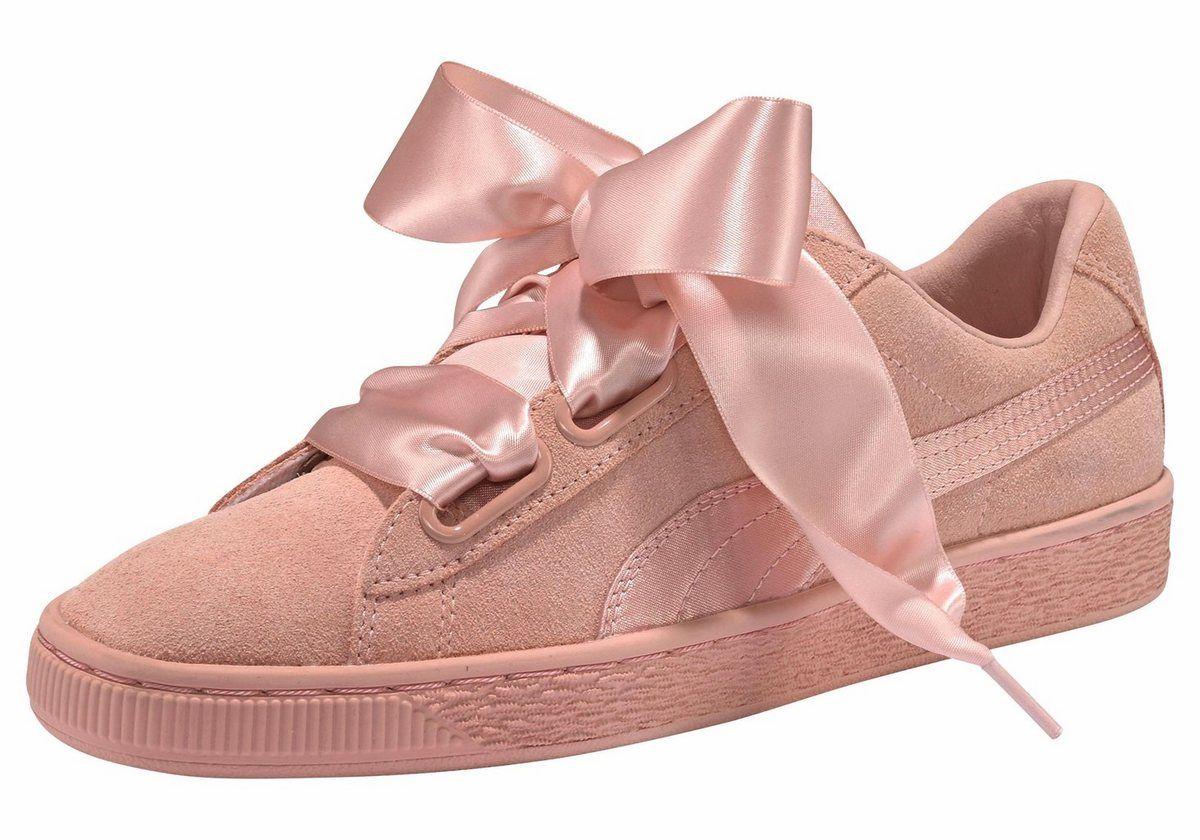 Suede Heart Ep Wn S Sneaker Schuhe Damen