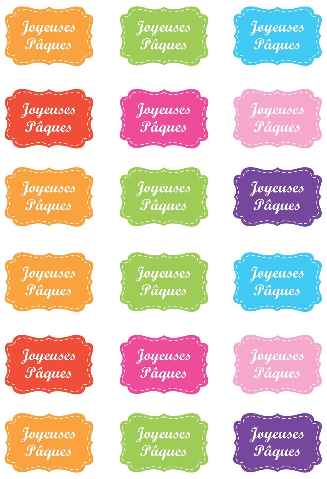 Etiquettes joyeuses p ques pour perforatrice tiquette d corative stampin 39 up p ques - Joyeuses paques images gratuites ...