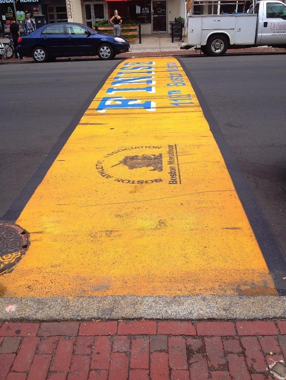 Boston Marathon Finish Line, Boston, Massachusetts — by
