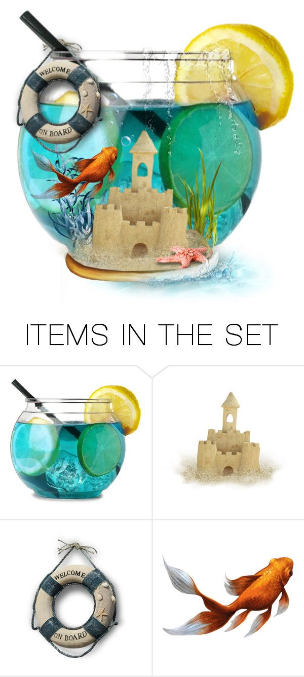 """""""Seaside Drink"""" by mandy-ruth ❤ liked on Polyvore featuring art"""