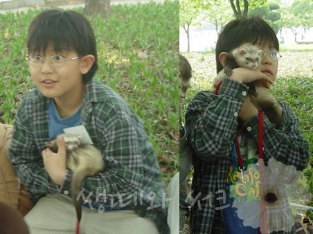 Chanyeol Pre-Debut hehehehe my little ferret boy :3