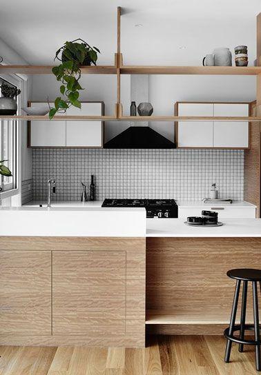 8 crédences pour dynamiser la déco de la cuisine Tiny living