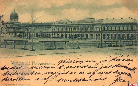 Romania, Oradea in trecut 1900