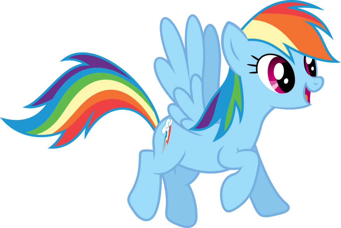 Draw For Pin The Tail On Rainbow Dash Fodelsedagskalas