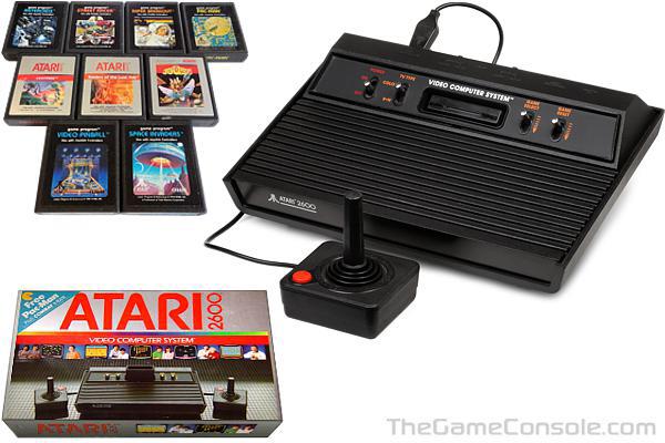 Atari 2600 Vader Atari Game Console Vintage Video Games
