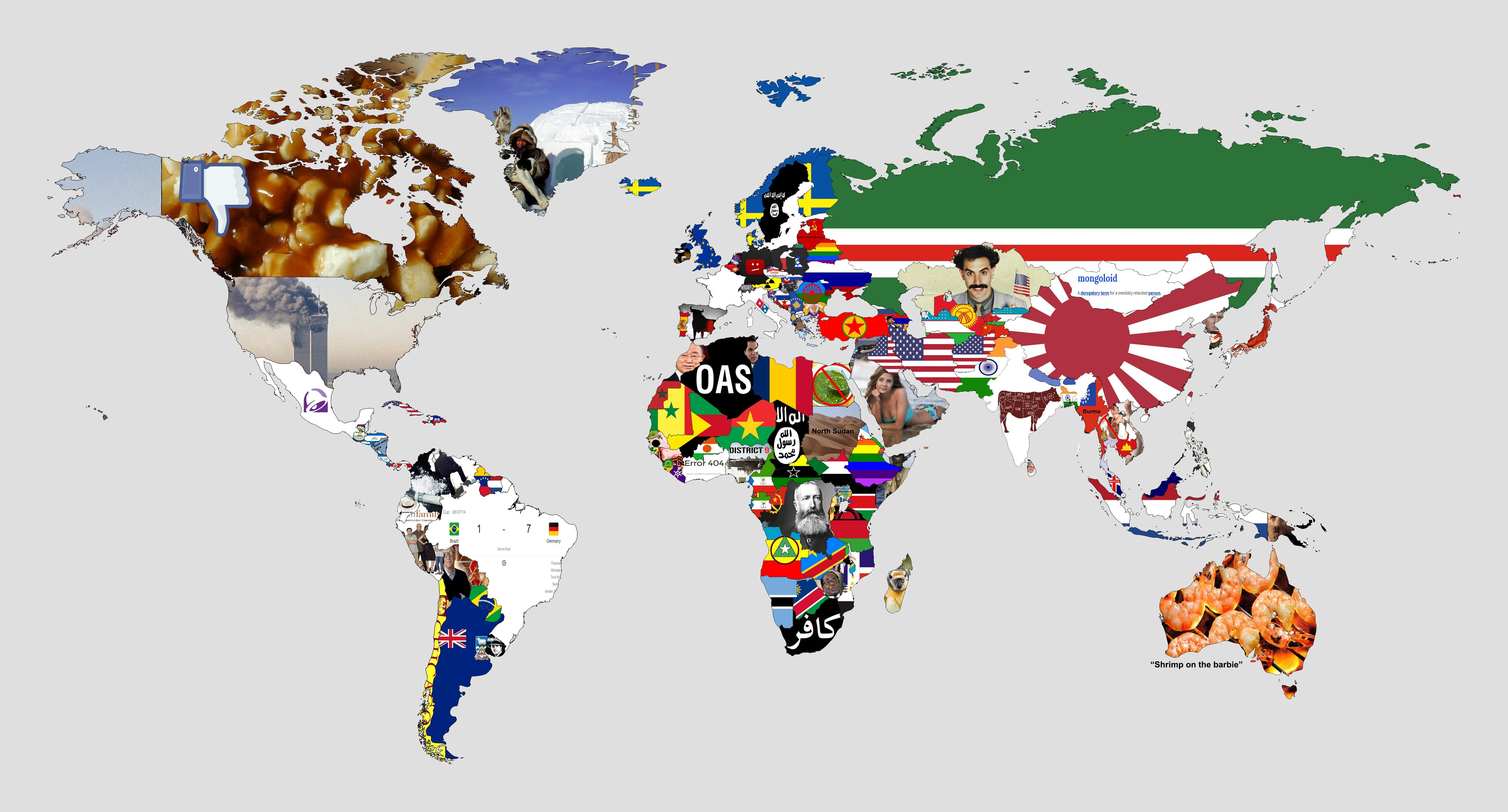 A Map To Trigger Every Country With Images Funny Maps Map World