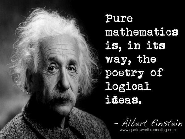 People Think That Computer Science Is The Art Of Geniuses: The Poetry Of Logic. Think Like A Genius. ~ETS