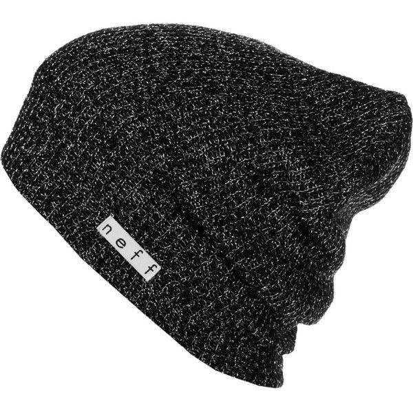 210a6275 Neff Daily Sparkle Beanie ($13) ❤ liked on Polyvore featuring accessories,  hats, beanie hats, neff hats, neff beanie, sparkly hats and neff