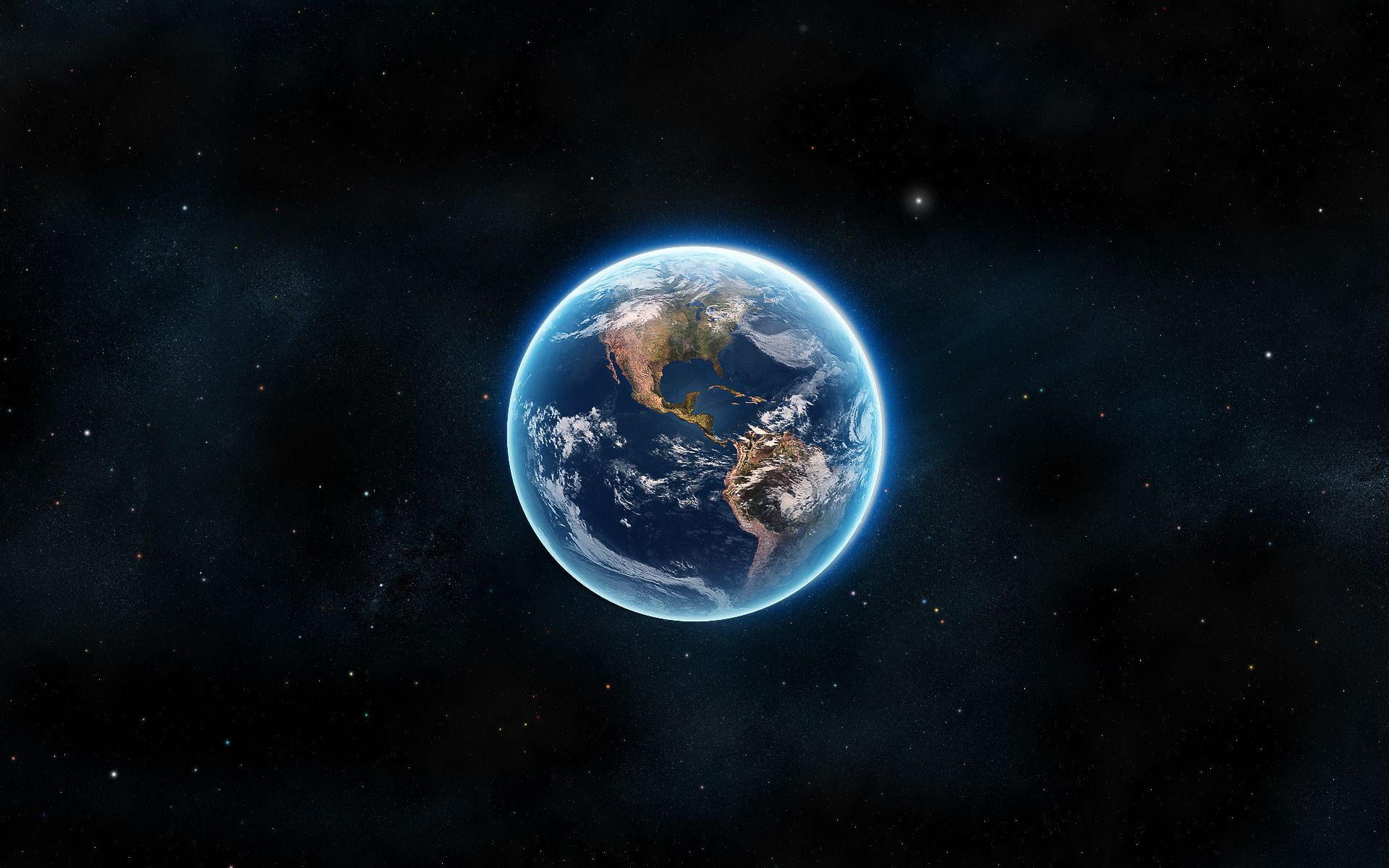 Glowing Earth Wallpaper Wallpaper Earth Earth From Space Earth Illustration