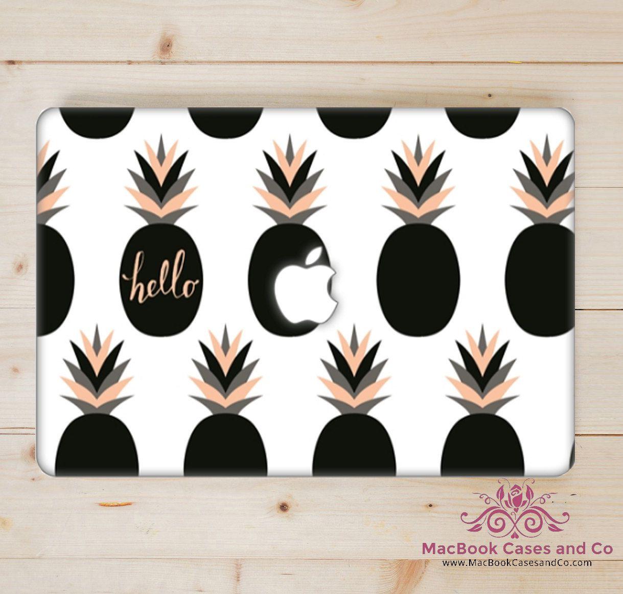 the latest 6abec 3b183 Hello Pineapple MacBook Case. Hard Plastic Macbook Case by ...