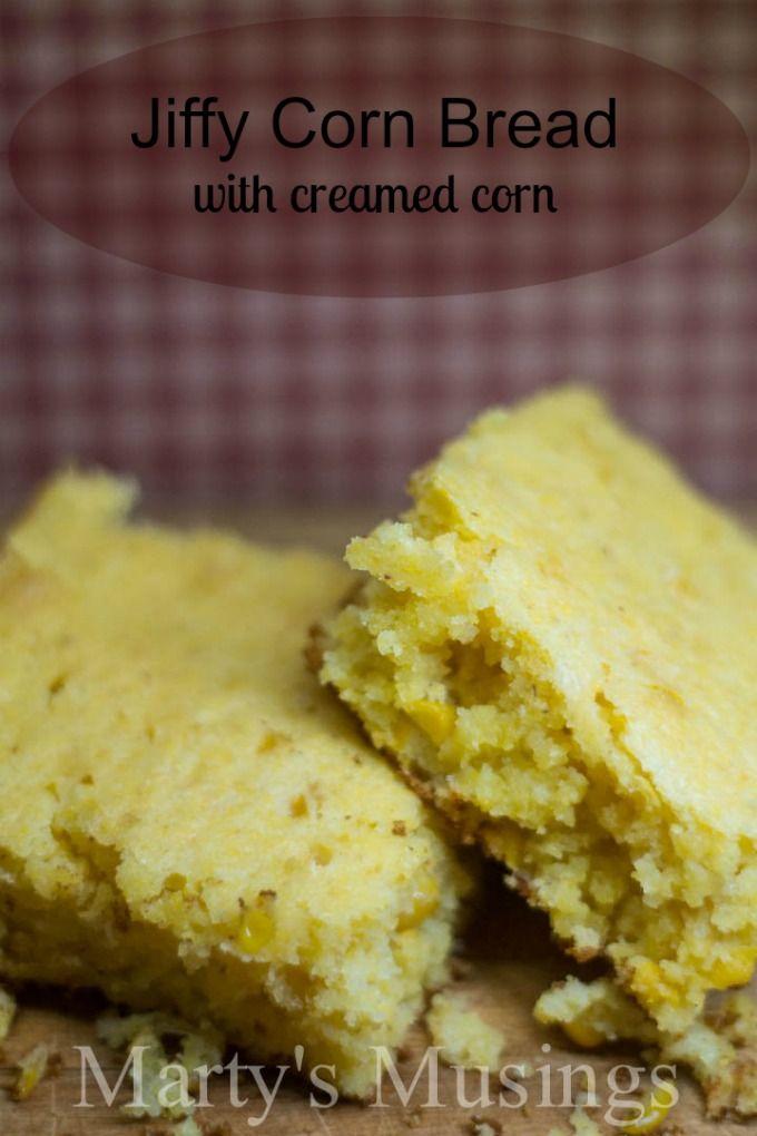 Jiffy Corn Bread With Creamed Corn Recipe Best Comfort Foods