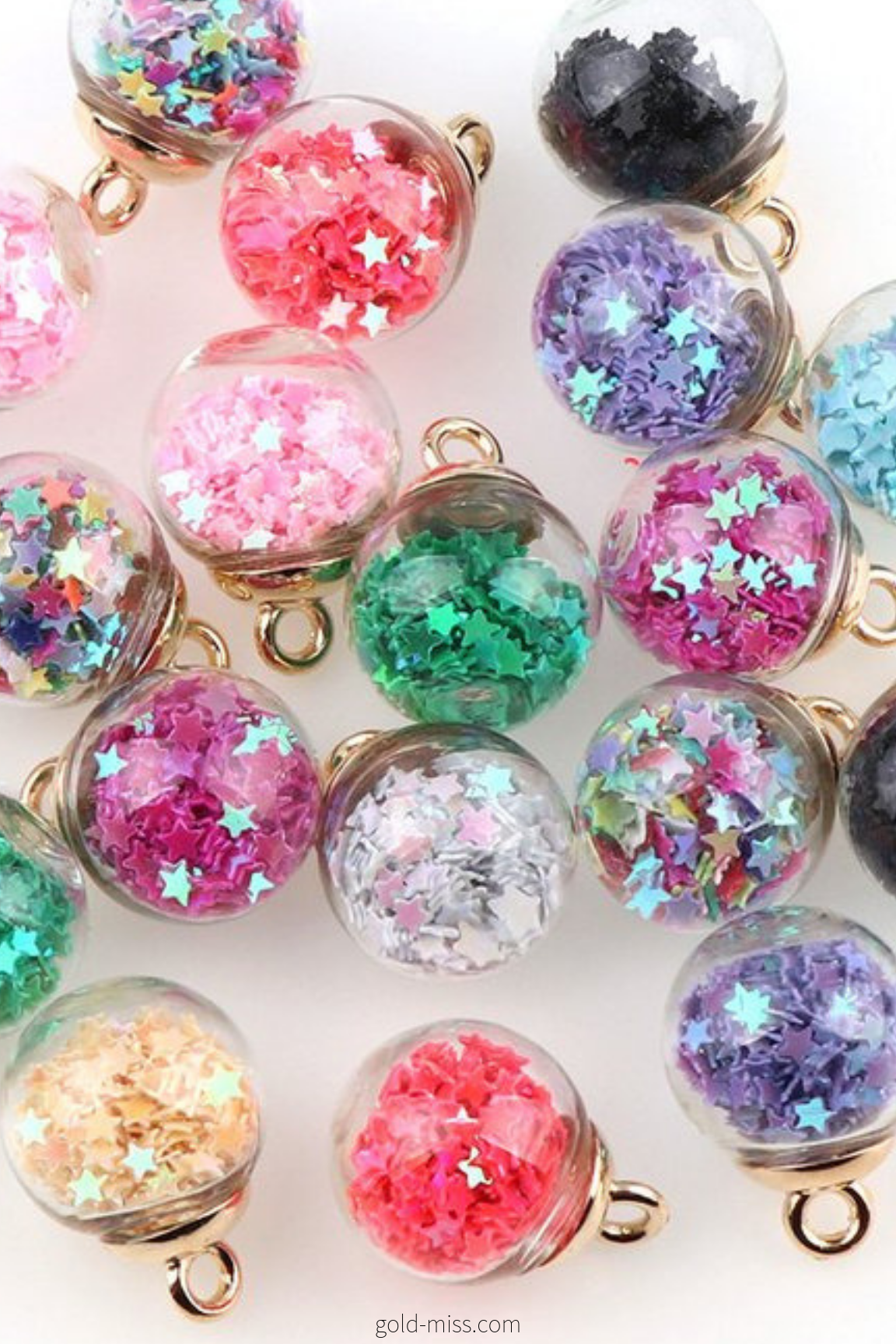 Mini Snow Globe Unicorn Ornament Glitter Globe Min