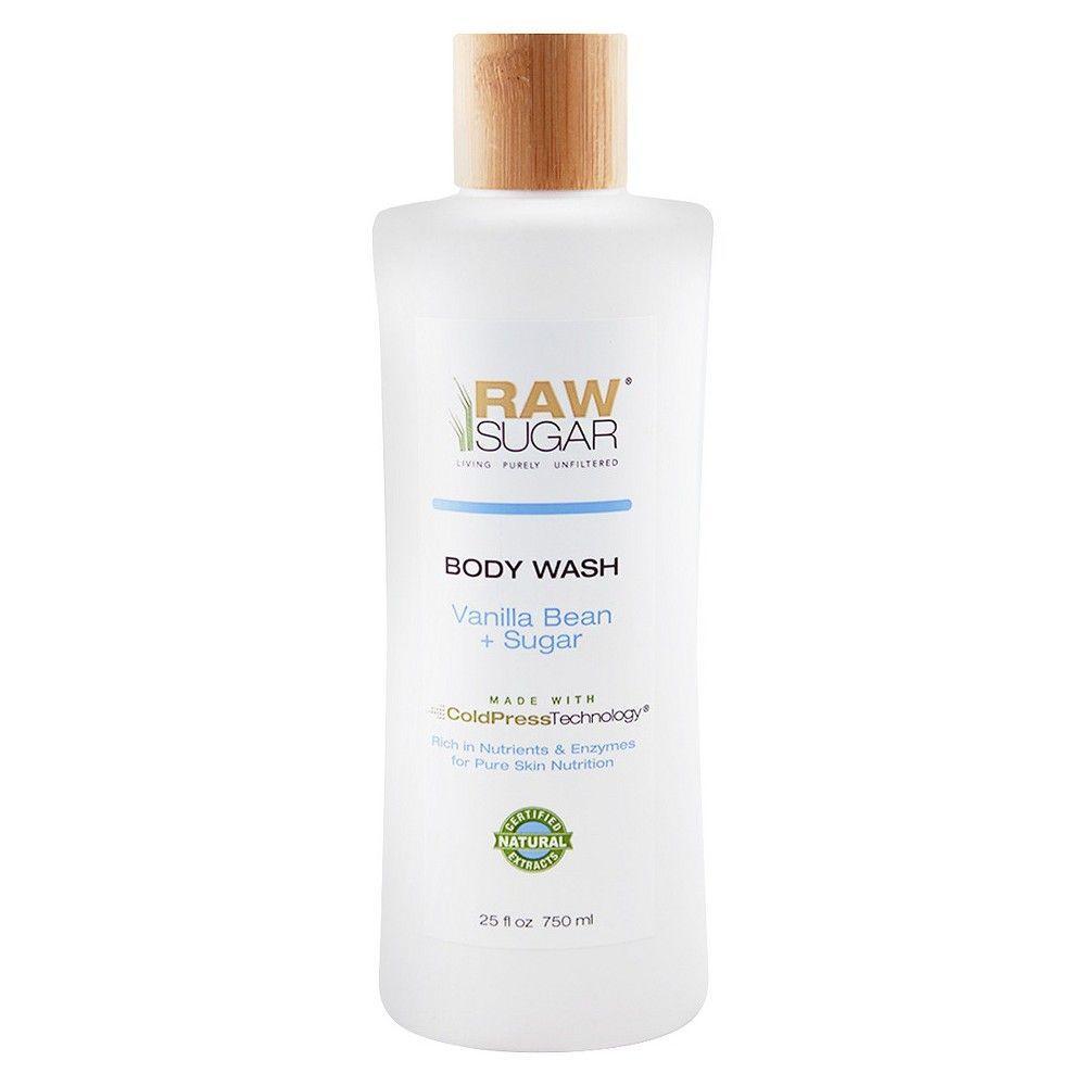 Raw Sugar Natural Body Wash Vanilla Bean Sugar 25 Fl Oz In 2020