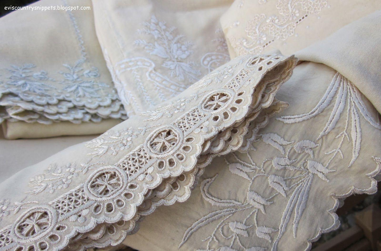 embellished linens